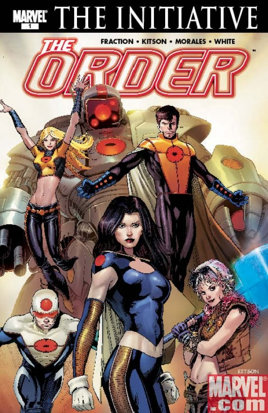 The Order #1 (Kitson Cover)