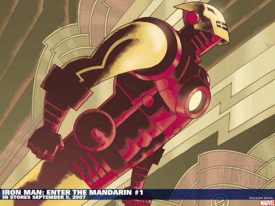 Iron Man: Enter the Mandarin (2007) #1 Wallpaper