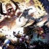 Image Featuring Galactus, Silver Surfer, Thanos