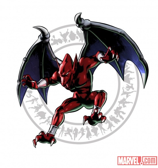 Firebrand character art from Ultimate Marvel vs Capcom 3 by Capcom