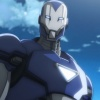Screenshot from the Iron Man anime