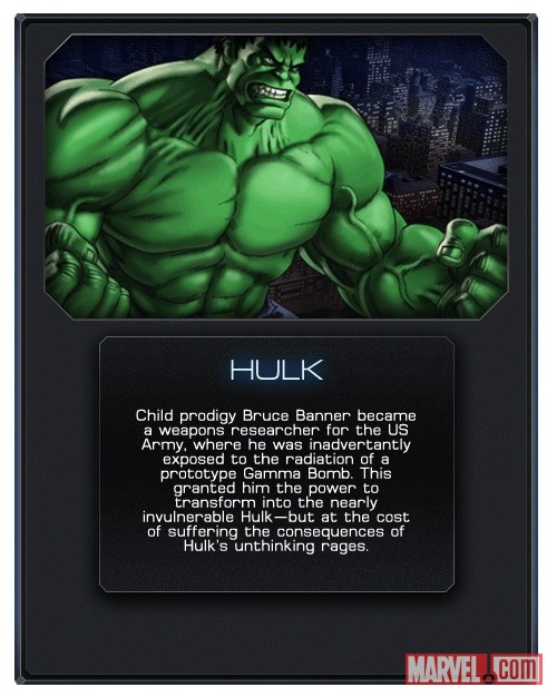 Hulk in Marvel: Avengers Alliance