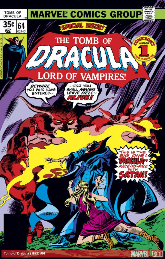 Tomb of Dracula (1972) #64 Cover