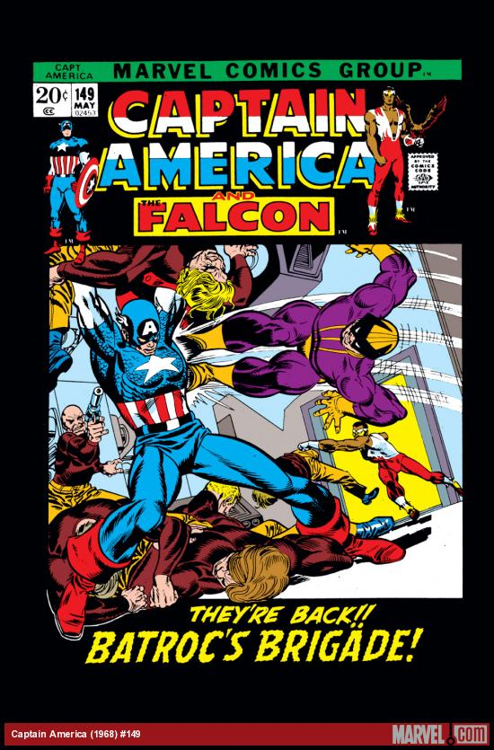 Captain America (1968) #149 Cover