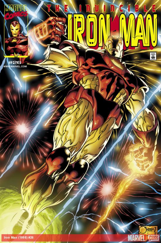 Iron Man (1998) #26 Cover
