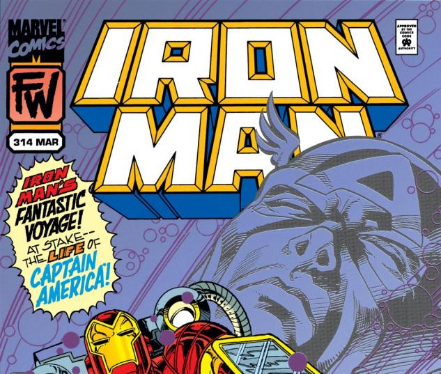 Iron Man (1968) #314 Cover