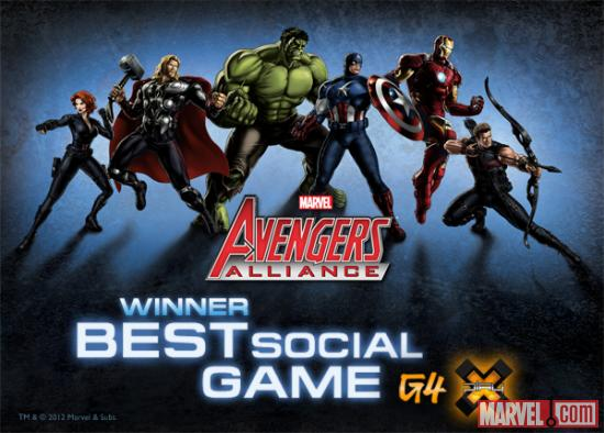 Winner of X-Play's 2012 Best Social Game of the Year Award
