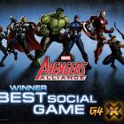 Avengers Alliance Wins X-Play's Social Game For the Year Award