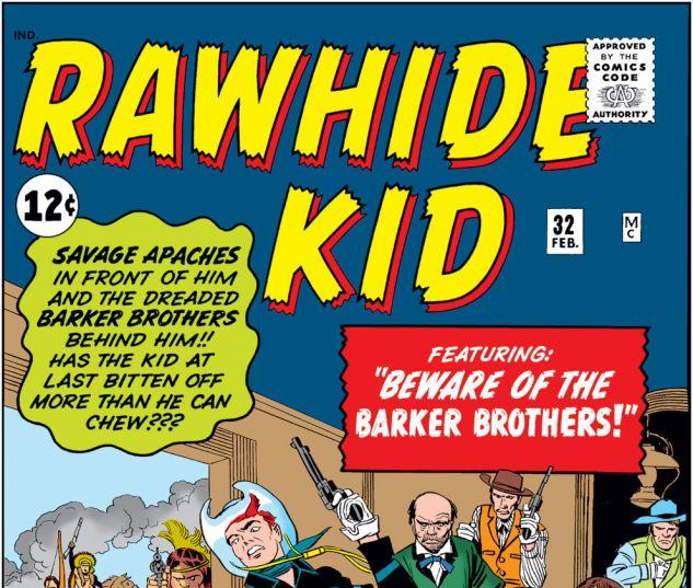 Rawhide Kid (1960) #32 Cover