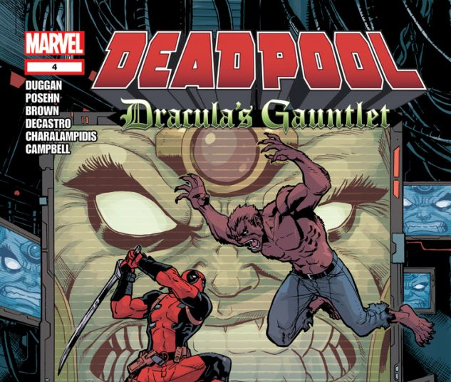 DEADPOOL: DRACULA'S GAUNTLET 4
