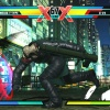 X-23, Haggar and Nemesis in Ultimate Marvel vs. Capcom 3 for the PlayStation Vita