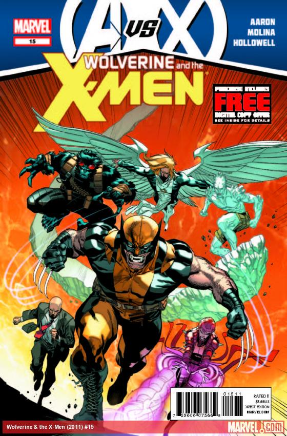 WOLVERINE & THE X-MEN 15 (AVX, WITH DIGITAL CODE)