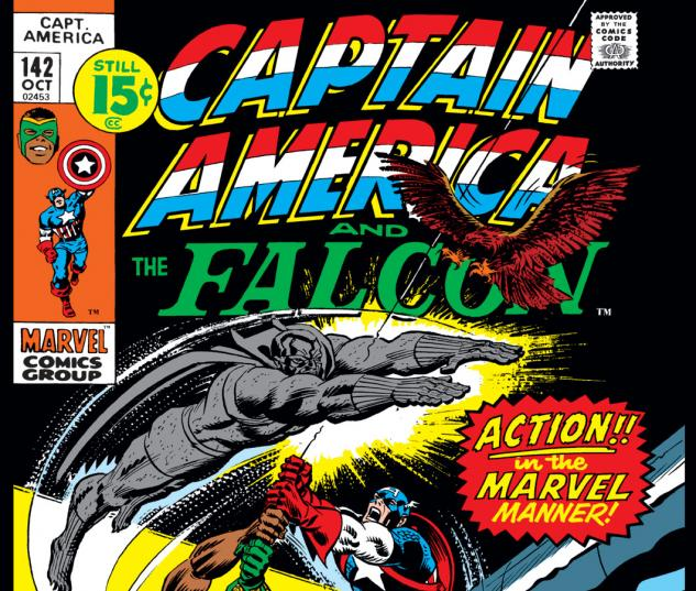 Captain America (1968) #142 Cover