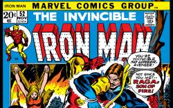 Iron Man (1968) #52 Cover