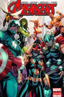 Avengers: Heroes Welcome #1