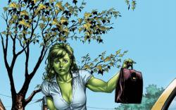 She-Hulk: Sensational #1 cover by Gary Frank