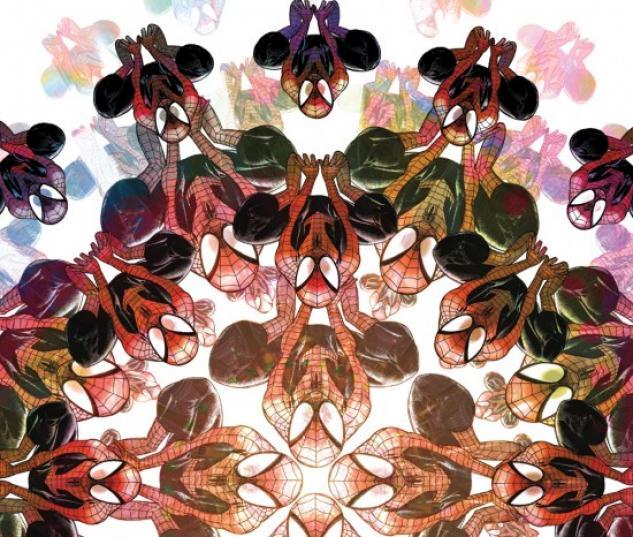 ULTIMATE COMICS SPIDER-MAN #2 cover by David Lafuente