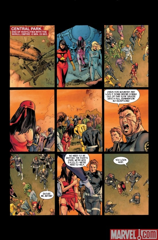 DARK REIGN: ELEKTRA # 1 preview page 1