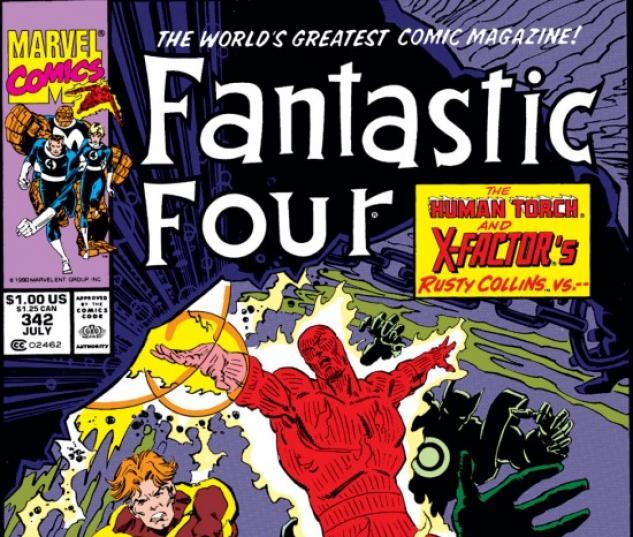 FANTASTIC FOUR #342
