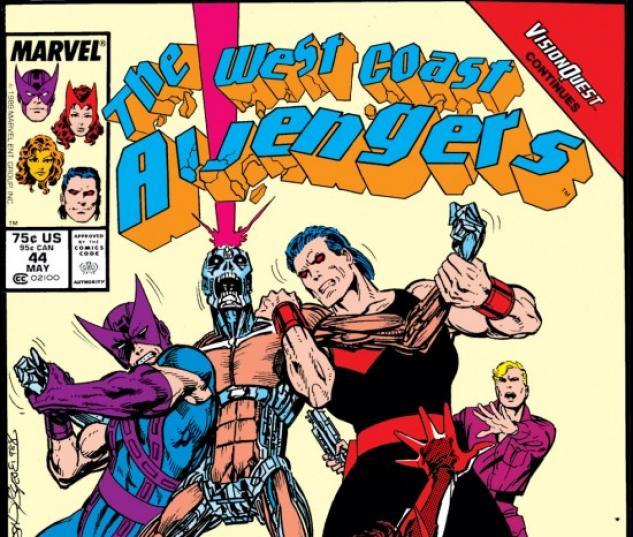 West Coast Avengers #44