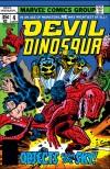 DEVIL DINOSAUR #4 COVER