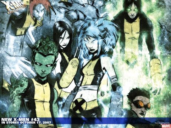 New X-Men (2004) #43 Wallpaper