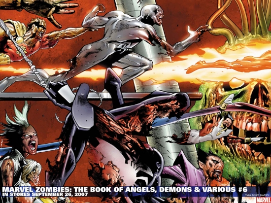 Marvel Zombies: The Book of Angels, Demons & Various (2007) #6 Wallpaper