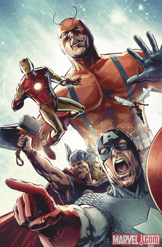 Image Featuring Avengers, Captain America, Iron Man, Thor, Wasp