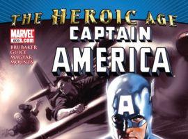Captain America #609 cover by Marko Djurdjevic