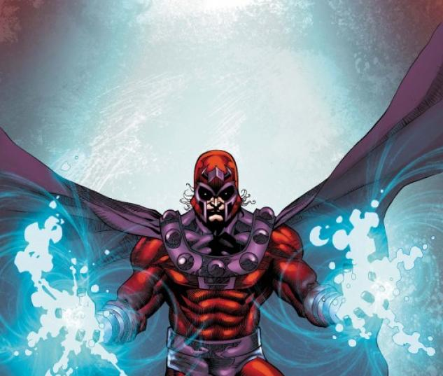 Magneto (2010) #1 cover by Roger Cruz