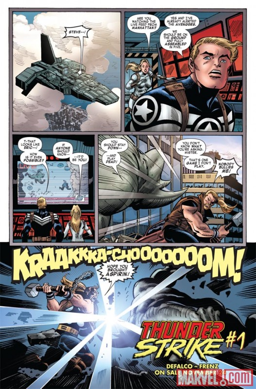 Image Featuring Captain America, Sharon Carter