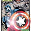 Cap and the Skull fight side-by-side