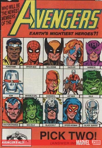 Avengers comics