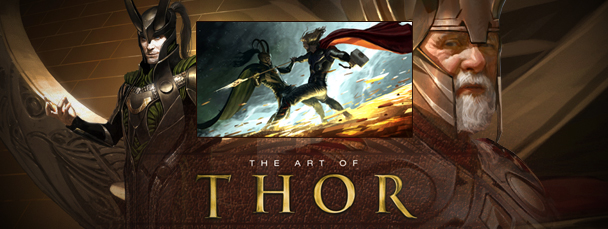 The Art of Thor On Sale Now
