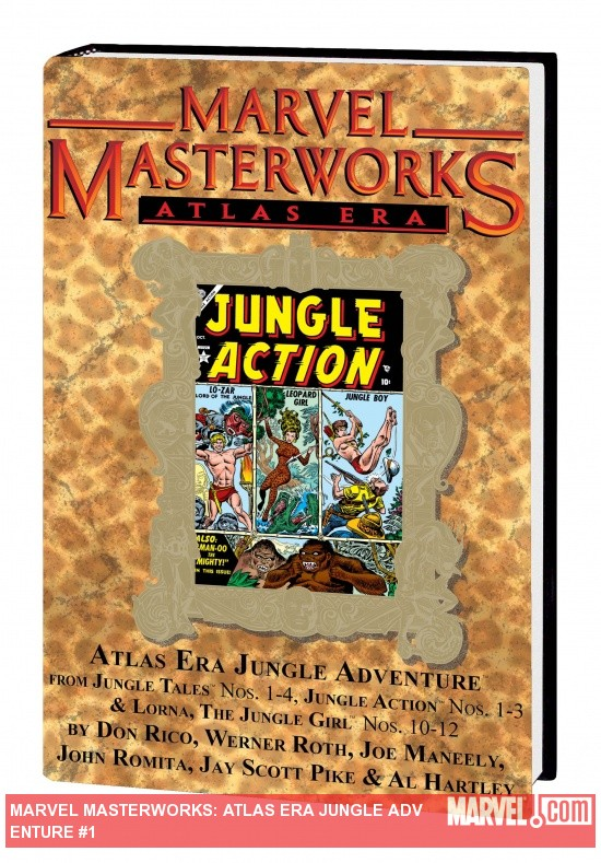 Marvel Masterworks: Atlas Era Jungle Adventure