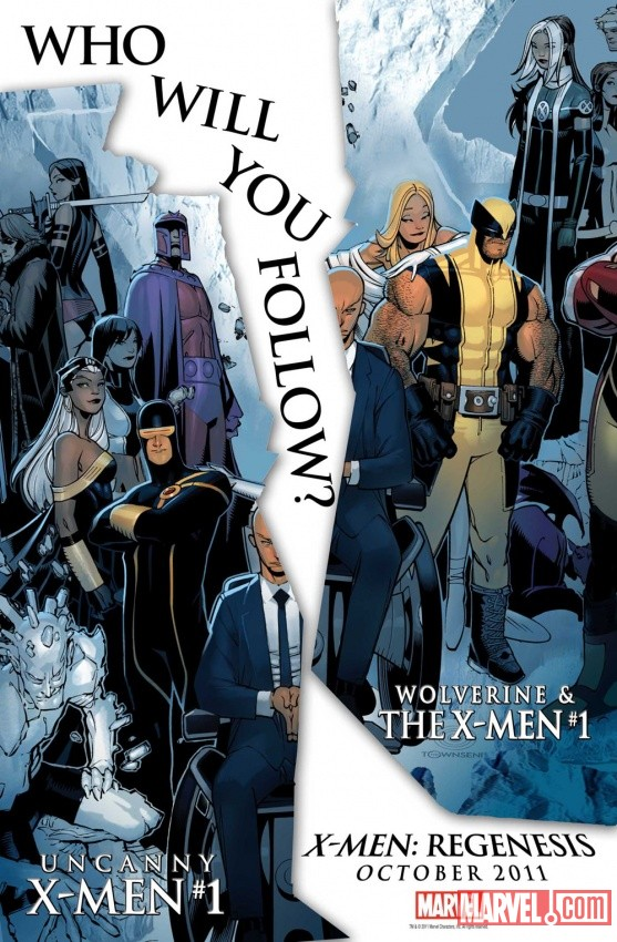 X-Men: ReGenesis promo by Chris Bachalo