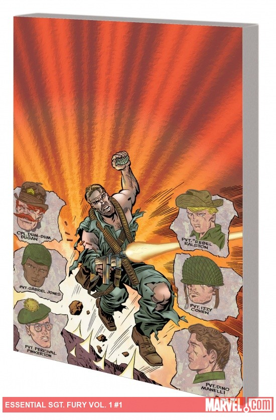 ESSENTIAL SGT. FURY VOL. 1 TPB