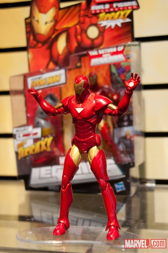 Hasbro Marvel Universe Build A Figure Iron Man