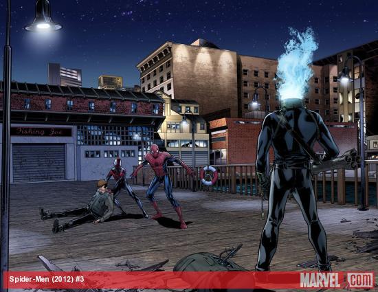 Превью-арты Spider-Men #3