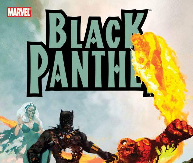 Black Panther: Four the Hard Way (2007) TPB