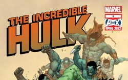 INCREDIBLE HULK (2011) #6 Cover