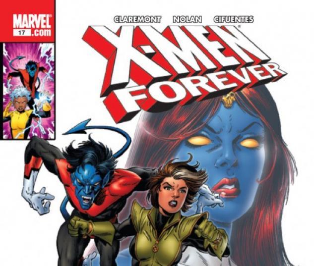 X-MEN FOREVER #17 Cover by Tom Grummett