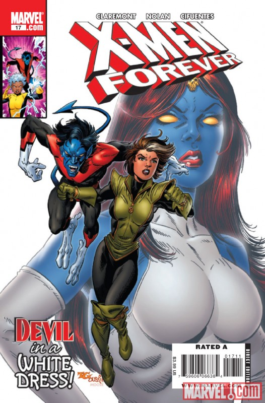 X-MEN FOREVER #17 Cover by Tom Grummett