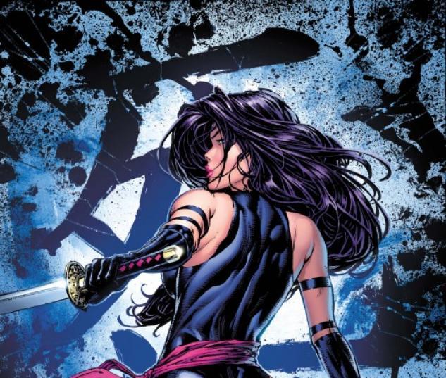 Psylocke #1 cover by David Finch