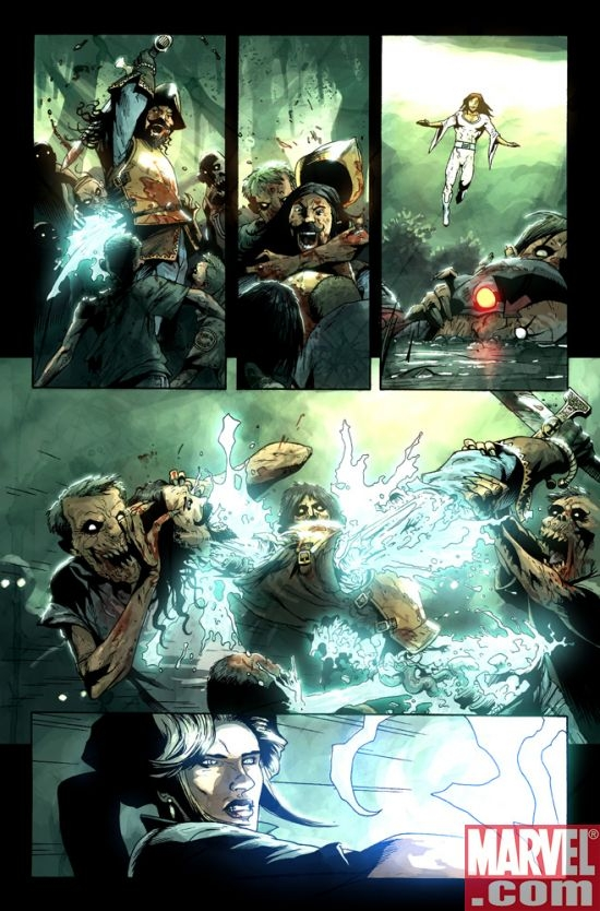 MARVEL ZOMBIES 3 #1 preview art by Kev Walker