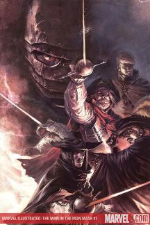Marvel Illustrated: The Man in the Iron Mask Premiere (Hardcover)