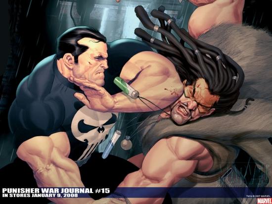Punisher War Journal (1988) #15 Wallpaper