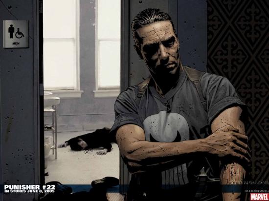 Punisher (2001) #22 Wallpaper