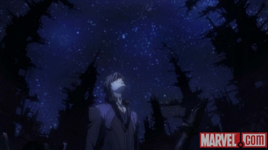 Screenshot from the X-Men Anime series