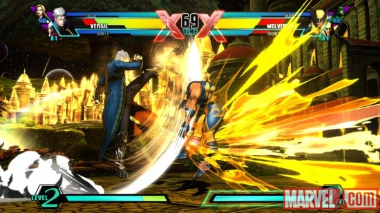 Ultimate Marvel vs. Capcom 3 Vergil Screenshot 5